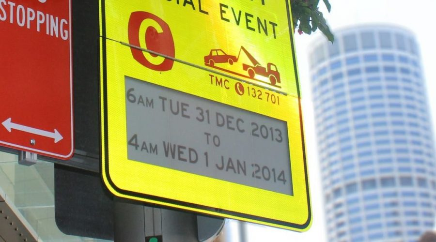 Sydney Launches World S First E Paper Traffic Signs