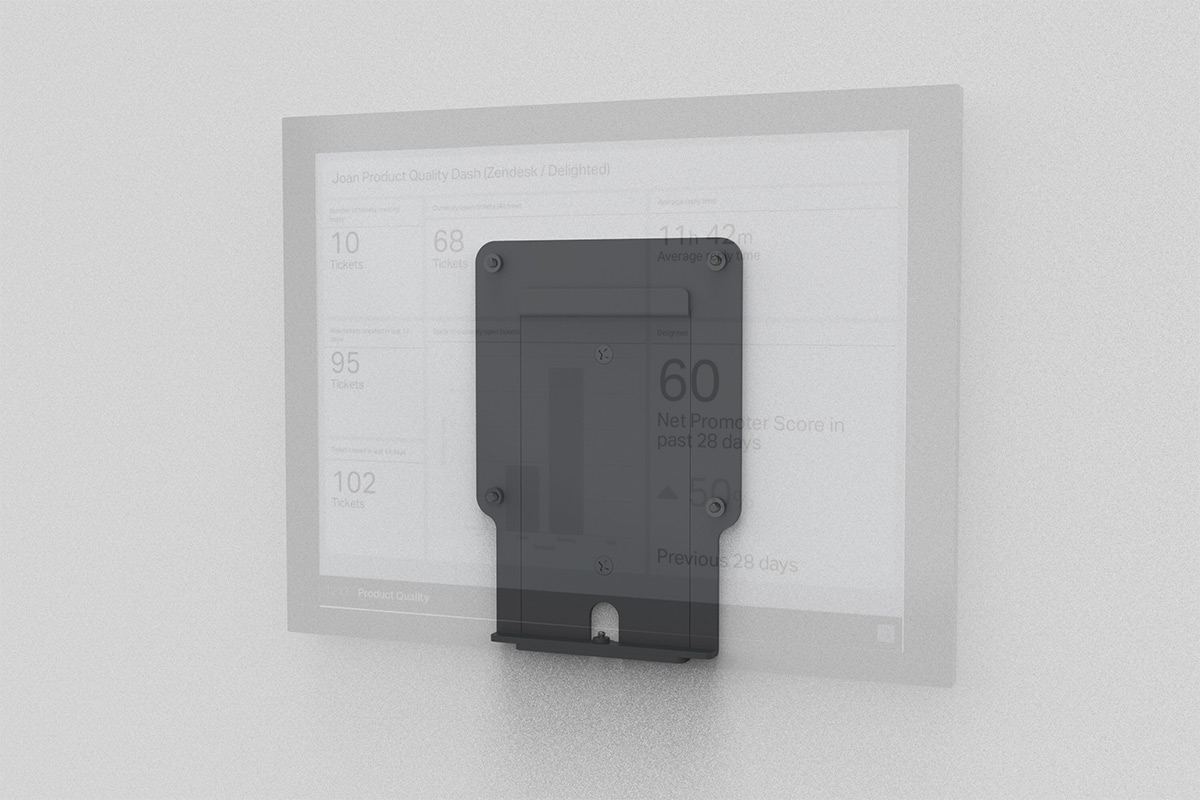 Secure Wall Mount 13 Inch Visionect